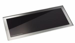 Küppersbusch Glasschneidebrett Design Schwarz Zub.-Nr. 08032