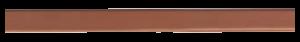 Küppersbusch Designleiste Copper Zub.-Nr. DK 7002