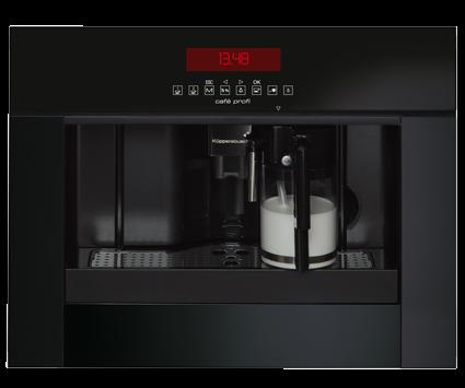 Einbau Kaffeevollautomat küppersbusch einbau kaffeevollautomat ekv 6750 0 j jet black