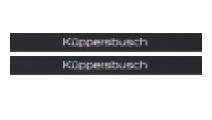 Küppersbusch Individual Black Velvet Zubehör-Nr. 3905