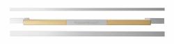 Küppersbusch Griff Silver Chrome/Einleger Gold DK 3014