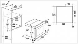 Küppersbusch Einbau-Backofen BP 6550.0 S1 Edelstahl