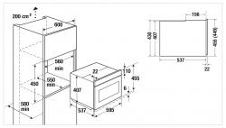 Küppersbusch Mikrowelle CM 6330.0 S0 Designkit Edelstahl beiliegend