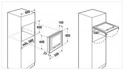 Küppersbusch LED-TV CTV 6800.0 S3 Designkit Silver Chrome beiliegend