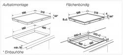 Küppersbusch Glaskeramik-Kochfeld KE 6310.0 SR