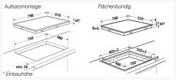 Küppersbusch Glaskeramik-Kochfeld KE 8330.0 SR