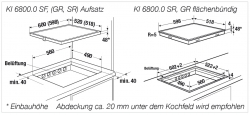 Küppersbusch Induktions-Kochfeld KI 6800.0 SF
