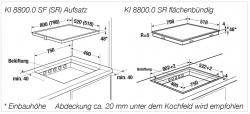 Küppersbusch Induktions-Kochfeld KI 8800.0 SF