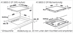Küppersbusch Induktions-Kochfeld KI 9800.0 SF