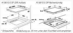 Küppersbusch Induktions-Kochfeld KI 9810.0 SR